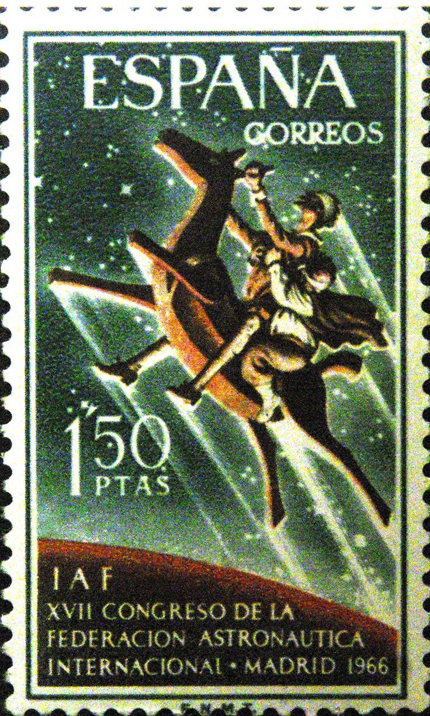 Sellos - XVII Congreso de la Federacion Astronomica Internacional - Madrid - 1968