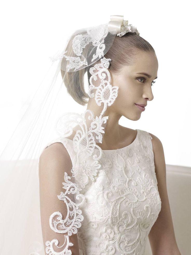 Bonnie wedding dress by Pronovias 2015 http://lamariee.hu/eskuvoi-ruha/pronovias/bonnie