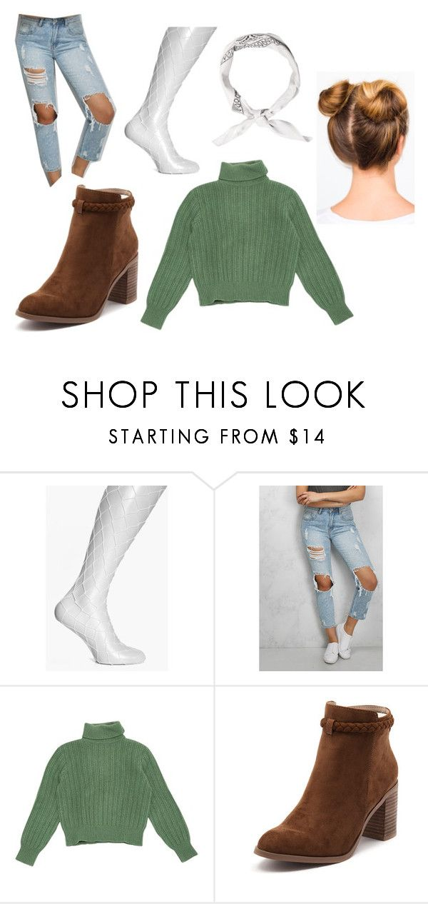 """so cacthy"" by tiyati on Polyvore featuring Boohoo, Rare London, Yves Saint Laurent and Billini"