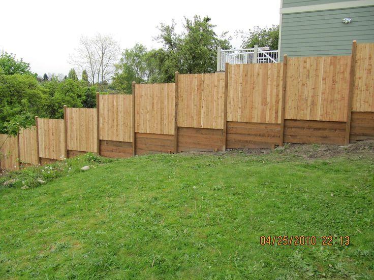 Hill fence 1 632 1 224 pixels fences for Backyard fence garden ideas