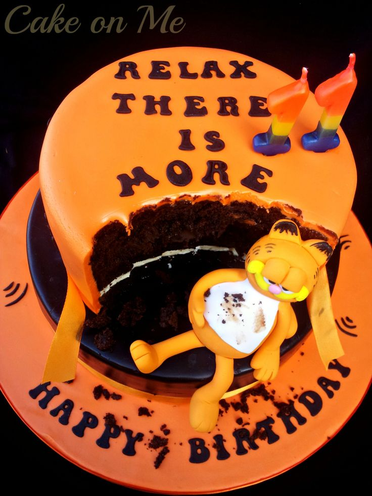 Garfield cake  https://www.facebook.com/media/set/?set=a.697312503622105.1073741875.546198952066795&type=3