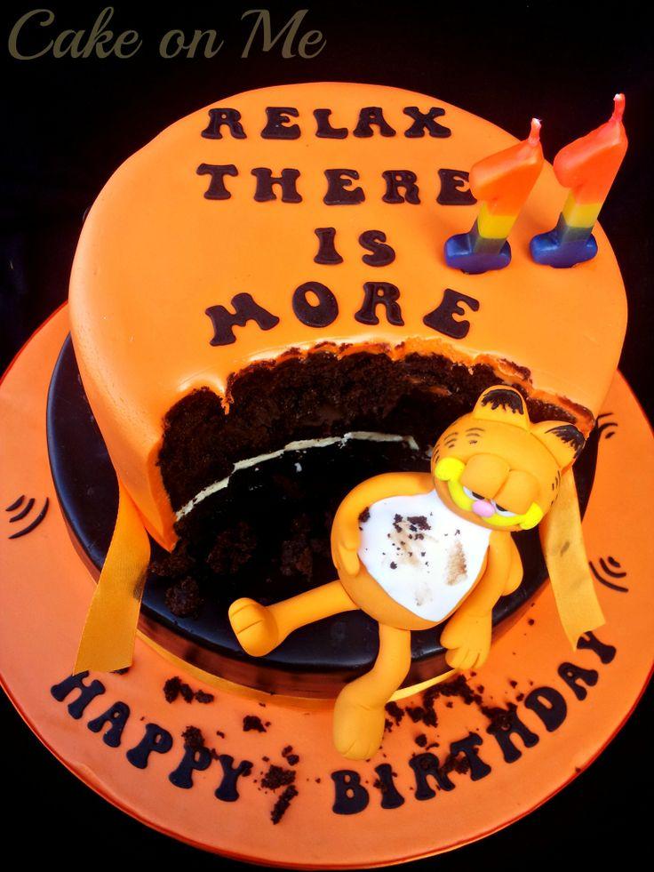 Garfield cake  https://www.facebook.com/media/set/?set=a.697312503622105.1073741875.546198952066795&type=3