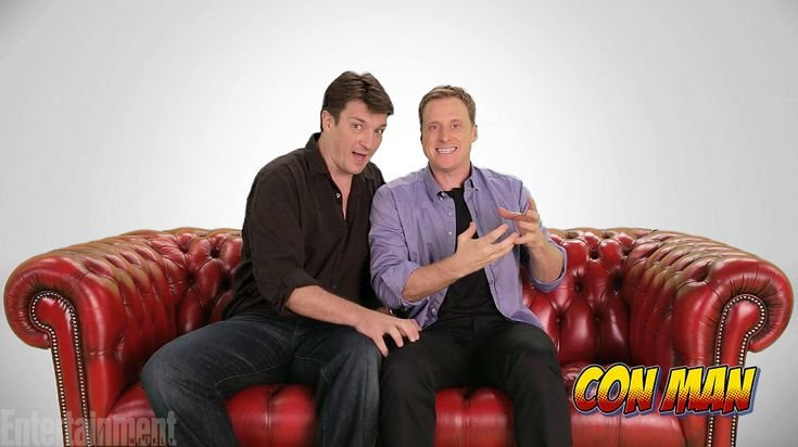 Want to see Firefly stars Nathan Fillion and Alan Tudyk not only back together on screen but back together on a spaceship? Then we recommend you get out your credit card and head over to the just-launched-today Indiegogo page for the pair's planned web series, Con Man.