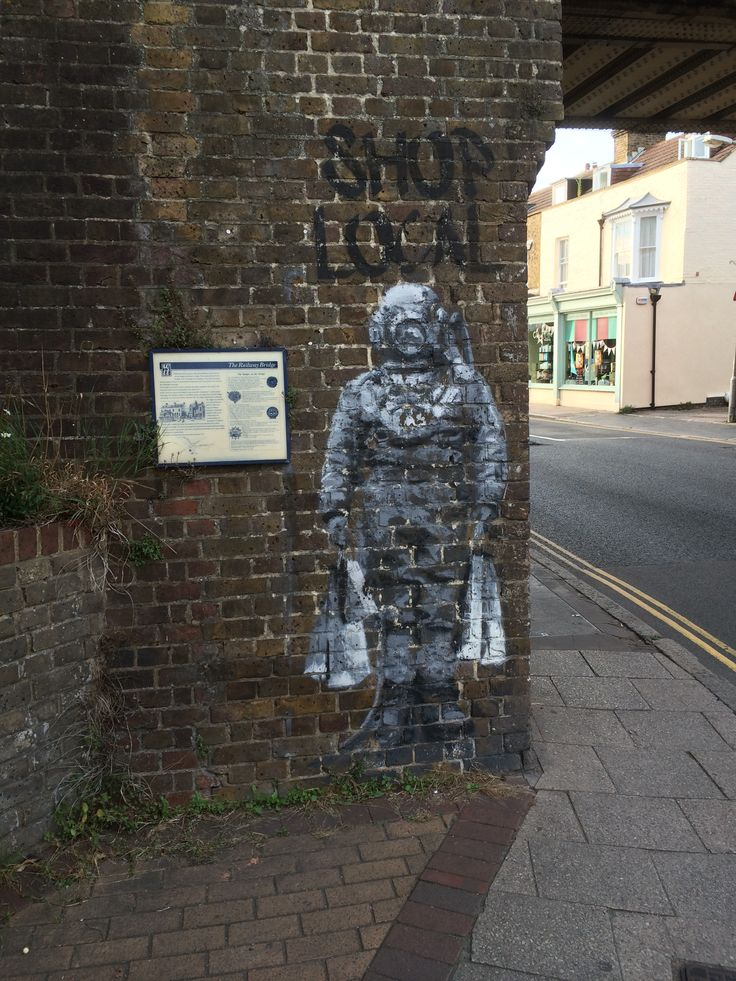 Catman. Found in Whitstable, Kent.