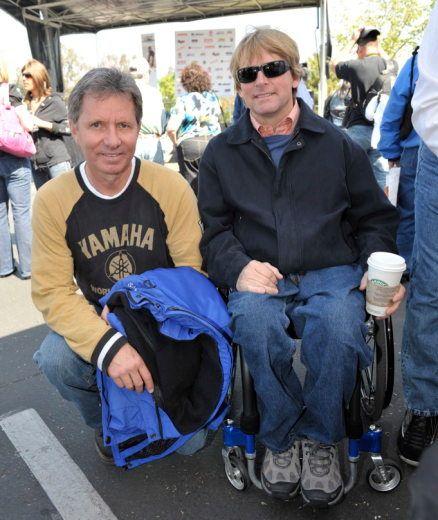 Eddie Lawson and Wayne Rainey