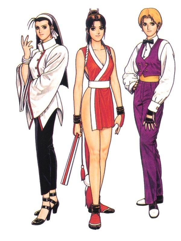 97... Nem Women Team... Mai Shiranui & King now with Chizuru Kagura.