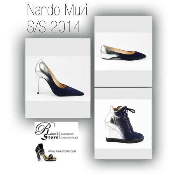 a selection of Beautiful Silver & Blue Suede Shoes with a Speckled Fade from our Spring Summer 2014 Nando Muzi collection. See the Entire #MadeInItaly Nando Muzi collection available at Rina's Italian Shoe Boutique http://www.rinastore.com/women-nando-muzi/
