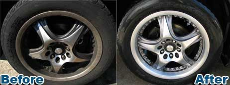Brake dust is highly corrosive and is the single most destructive contaminant that plagues your vehicle's wheels. Road salts can also corrode and pit metal wheels. Brake dust is a fine powder residue created from the brake rotor wearing away the brake lining.Adding a wheel wax, sealant or protectant to the wheels will protect and maintain the finish.