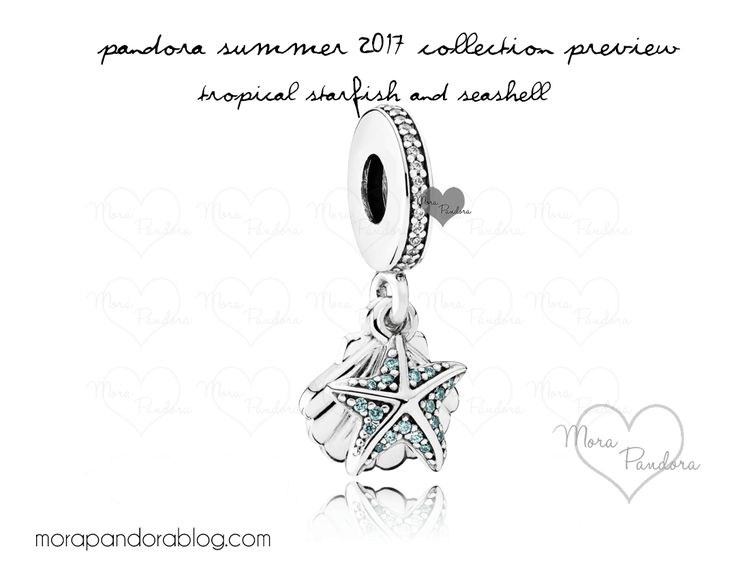 Pandora Summer 2017 Tropical Starfish