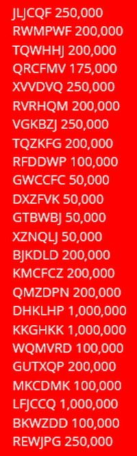 double down casino codes