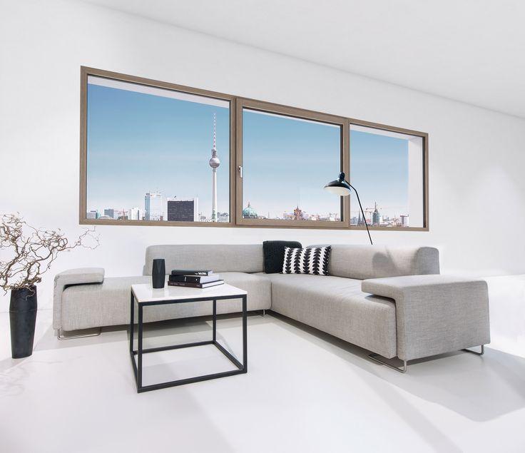 """Holz-/Aluminium Fenster HF 410. Beispiel """"Berlin"""". Fotocredits: Internorm                                                                                                                                                                                 More"""