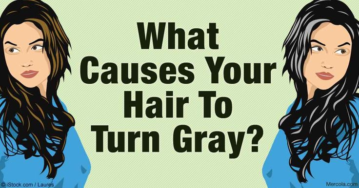 New research suggests it may be possible graying hair could involve signaling proteins, or a shortage of color-producing melanocytes. http://articles.mercola.com/sites/articles/archive/2016/12/03/premature-gray-hair.aspx