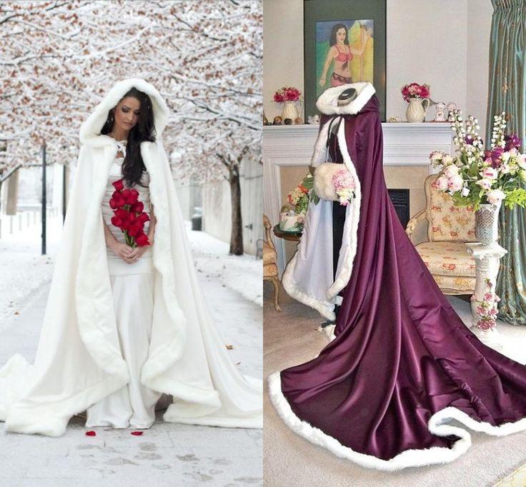 17 meilleures id es propos de manteau de mariage d 39 hiver for Robe et manteau pour mariage d hiver