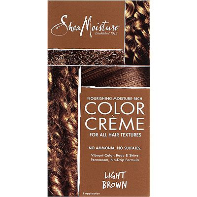 SheaMoisture Nourishing, Moisture-Rich, Ammonia-Free Hair Color System Light Brown