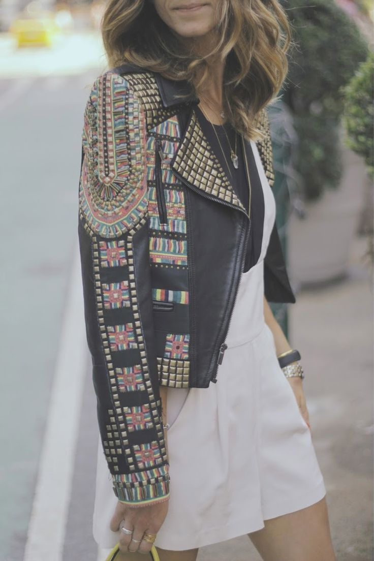 Embellished jacket #Fashiolista #Inspiration