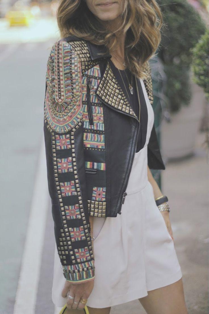 Embellished jacket #Fashiolista #Inspiration