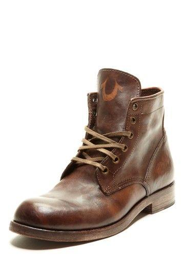 True Religion Xerxes Men Boot in Dark Brown