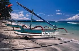 Image result for traditional indonesian boat side view