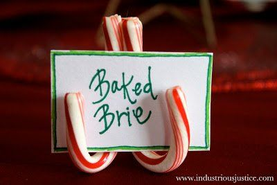 MOM Tip: Candy Cane Place Card Holders #247moms