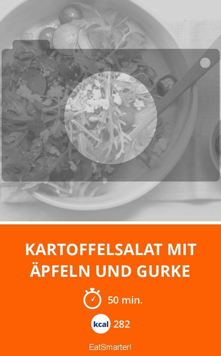 Kartoffelsalat mit Äpfeln und Gurke - smarter - Kalorien: 282 Kcal - Zeit: 50 Min. | eatsmarter.de