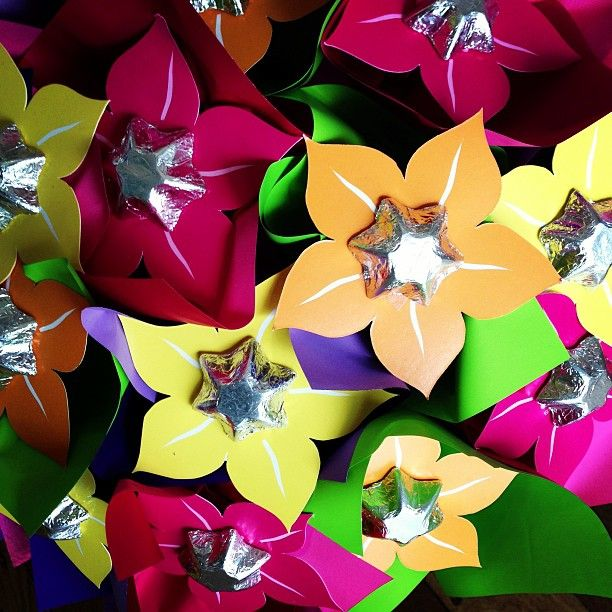 Chocolate Flowers..