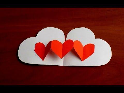 Как Сделать Валентинки Своими Руками Поделки из бумаги Valentine's Day Crafts - YouTube