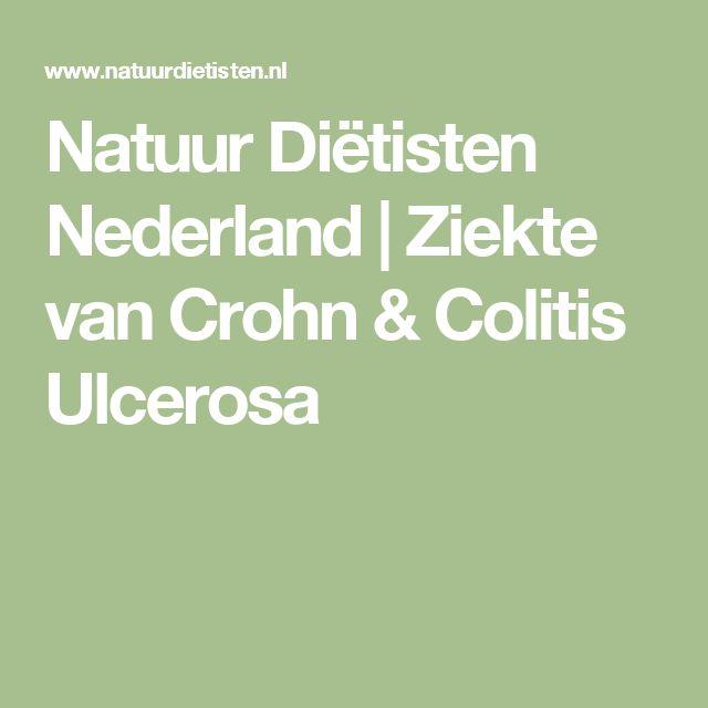 Natuur Diëtisten Nederland | Ziekte van Crohn & Colitis Ulcerosa