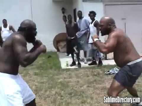 STREET FIGHTS  KIMBO SLICE v B.I.G !!!!!