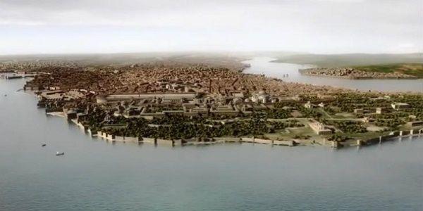 Εκπληκτική ψηφιακή απεικόνιση της Κωνσταντινούπολης στα χρόνια του Βυζαντίου | Βίντεο