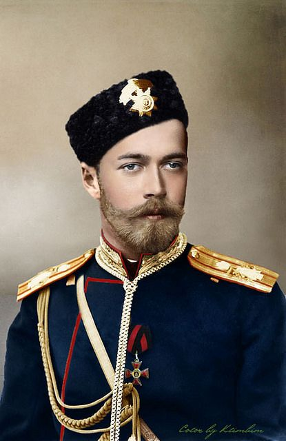 "Nicholas II of Russia.  This is the tsar the Leninist ""executed"" - meaning they murdered him and his family by taking them in a cellar and shooting them."