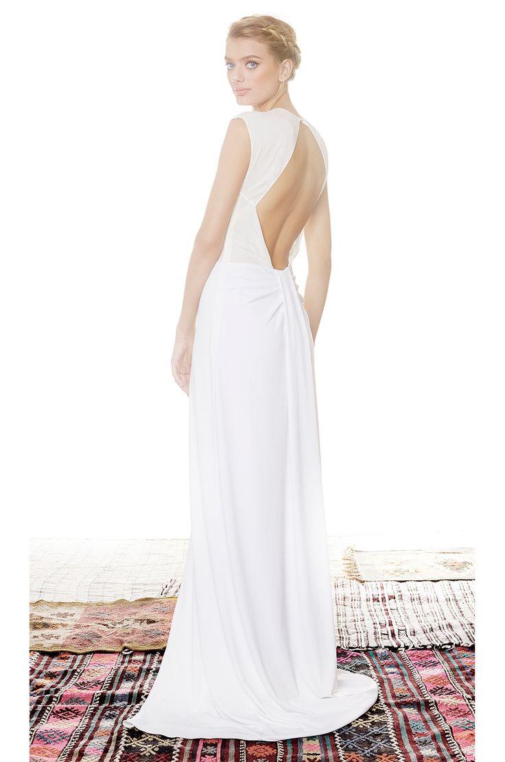 RACHEL ZOE Amara Sheer Inset Maxi Dress in Pure White | REVOLVE
