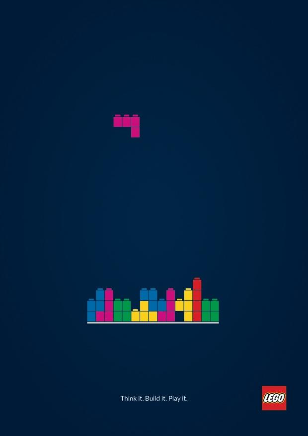 #LEGO #tetris #advert