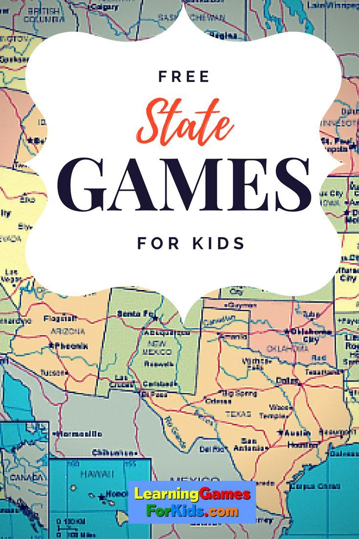 Best   States Ideas On Pinterest - Free us state map games