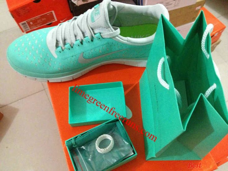 Tiffany green running shoes! So pretty!  Nice  #PinYourResolution
