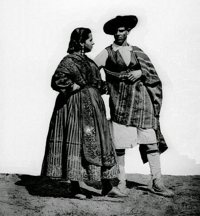 Fotos antiguas: Huertanos.