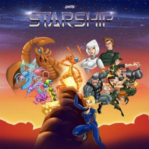 Starship! I wanna be a Starship Ranger! haha