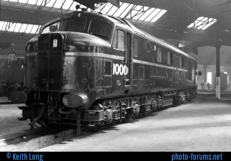 Diesel locomotive 10000