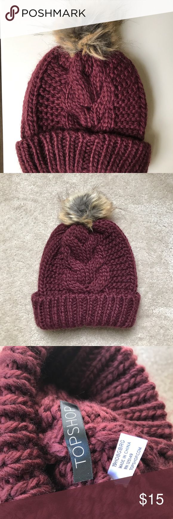 NWOT Topshop hat New without tag, one size. Topshop Accessories Hats