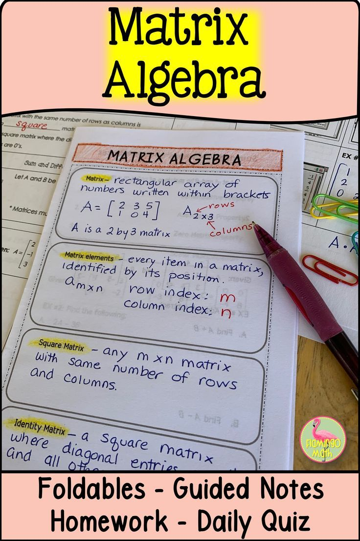 Review Matrices And Go More In Depth With Your Precalculus Students In This Lesson Students Will Perform Operations On Ma Algebra Algebra Lessons Precalculus