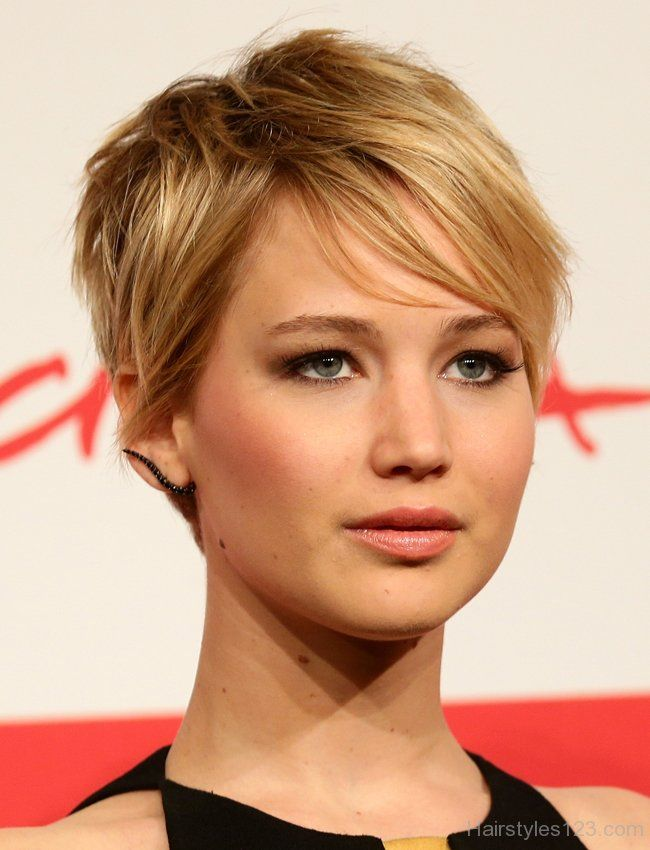 Jennifer Lawrence Pixie Hairstyle
