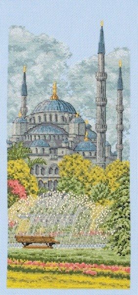 Borduurpakket De Blauwe Moskee Istanbul - Anchor