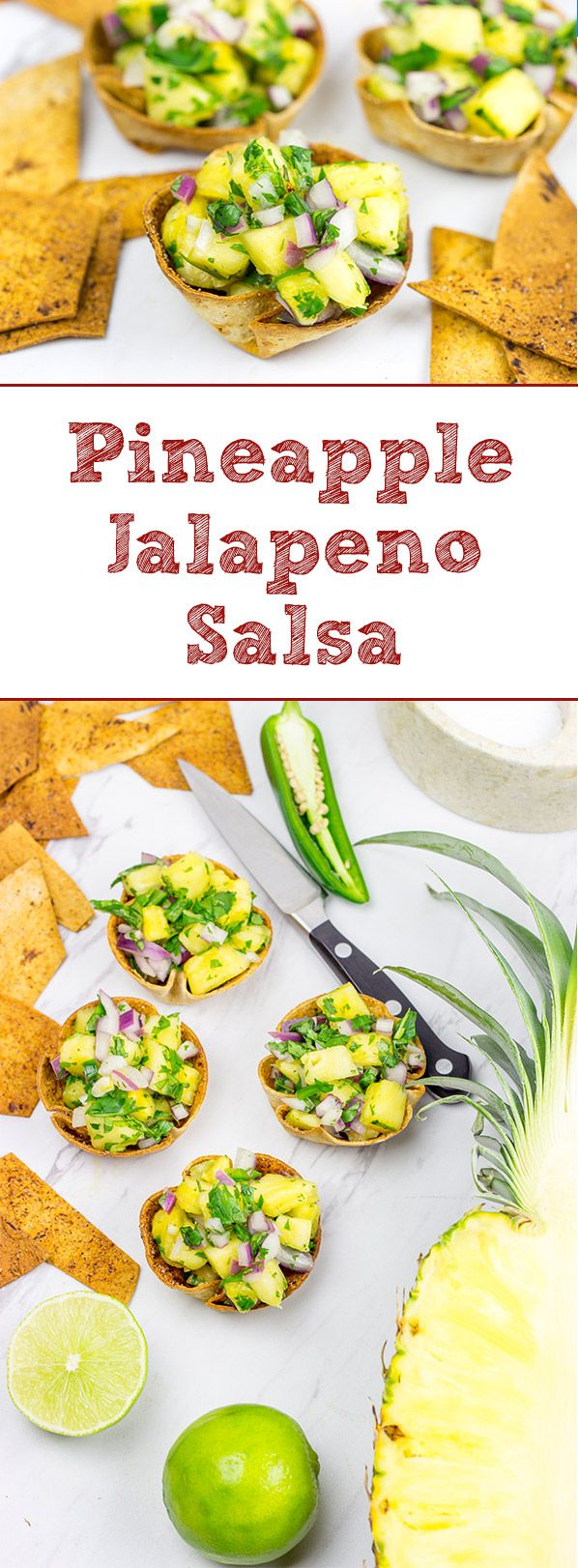 Mix up summer salsa season with this Pineapple Jalapeno Salsa!