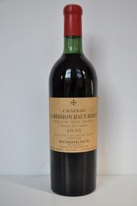 Chateau La Mission Haut Brion 1961, Grand Cru Classe, 1 bottle Red wine, Pessac Leognan, cellarwine and ready to drink. http://auction.catawiki.com/kavels/425187-chateau-la-mission-haut-brion-1961-grand-cru-classe-1-bottle