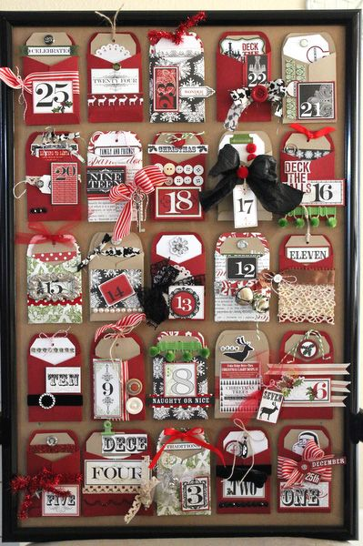 pocket and tags advent calendar--could use tags to journal --project for 2012
