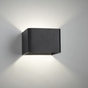 Mood 1 LED / Sort væglampe illumina - Designerlamper - Hos lamper4u.dk sælger vi kvalitetsbelysning til dig