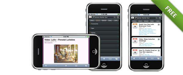15+ Free and Premium WordPress Mobile Themes