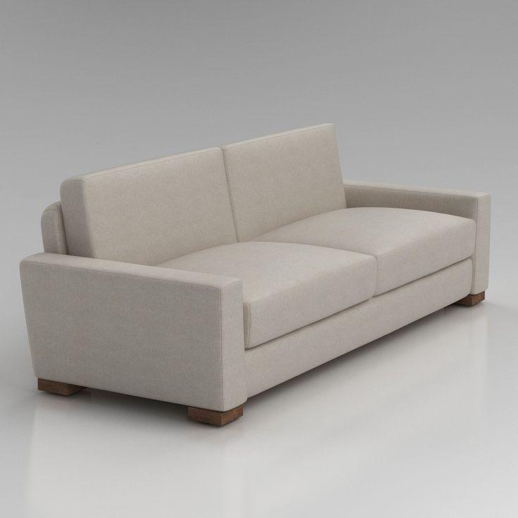 restoration hardware sofa couch sofas