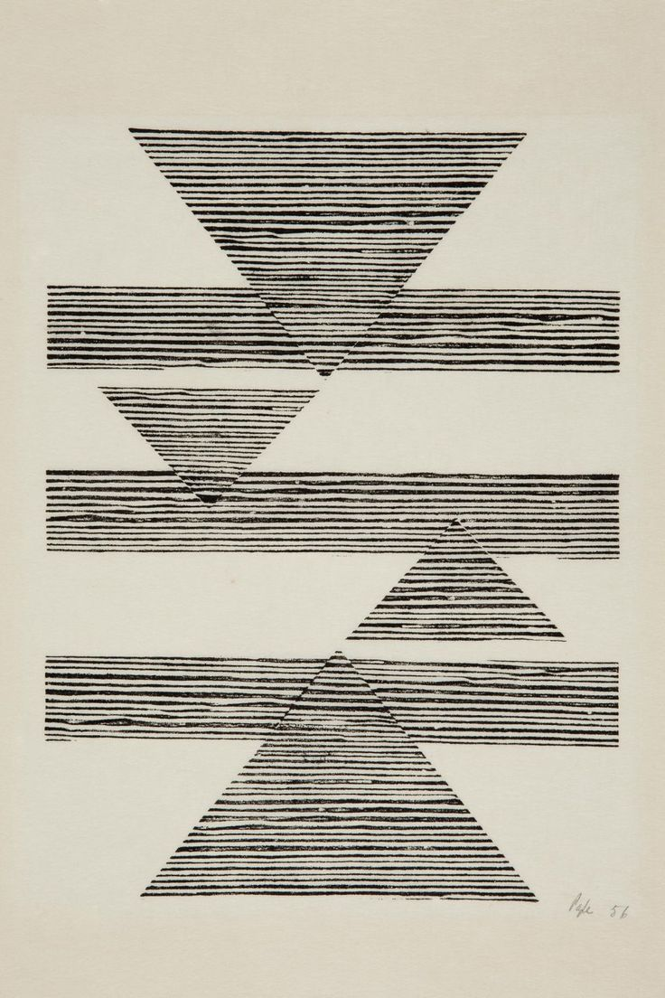 germinadodealfalfa: Lygia Pape Sem título: Tecelar (Untitled: Weaving)1956 Woodcut on Japanese paper.