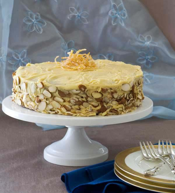 gluten free, dairy free almond orange cake