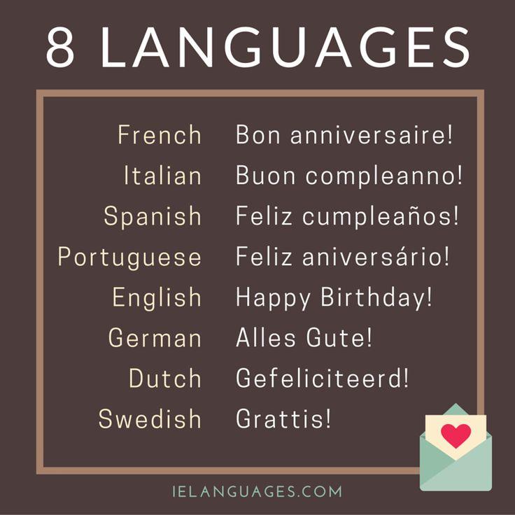 17 best ideas about gl ckwunsch zum geburtstag on - Gute besserung italienisch ...